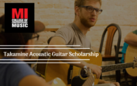 Musicians Institute Takamine Acoustic Guitar International Scholarship in the United State