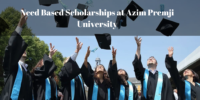 Need Based Scholarships at Azim Premji University