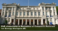 PhD studentship in Mechanics of Composite Materials for Energy Storage