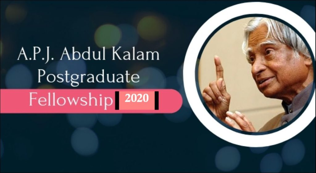 President A.P.J. Abdul Kalam Postgraduate Fellowship for Indian Students at University of South Florida