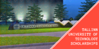 Scholarships at Tallinn University of Technology for International Students