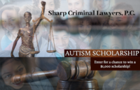Sharp Criminal Lawyers Autism Scholarship