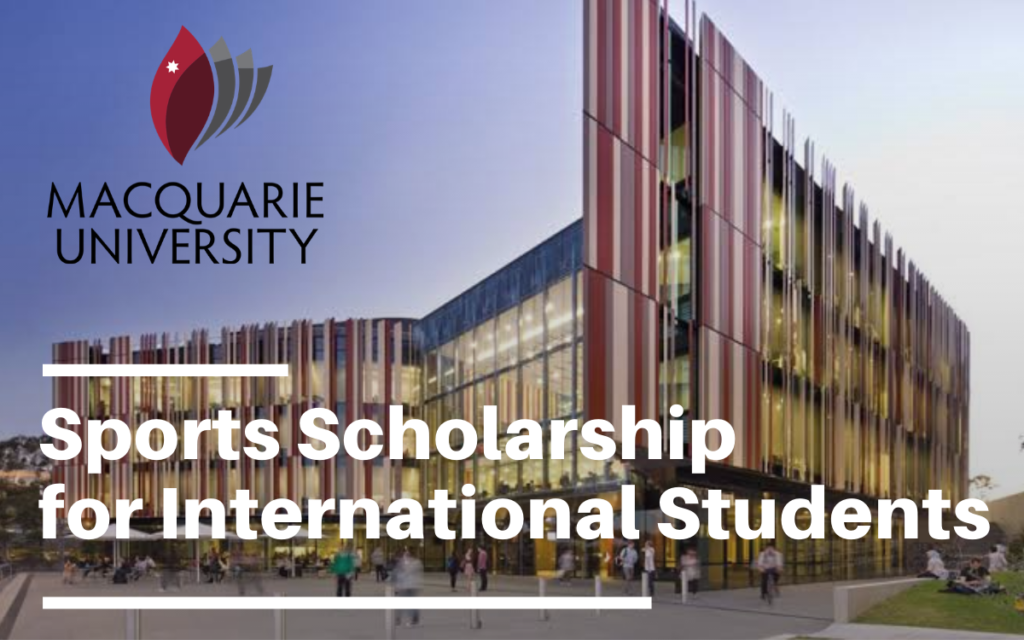 Sports funding for International Students at Macquarie University, Australia
