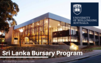Sri Lanka Bursary Program at University of Wollongong, Australia