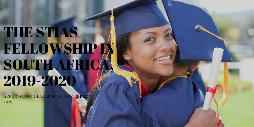 The STIAS Fellowship in South Africa, 2019-2020