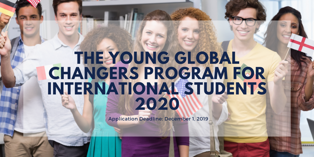 The Young Global Changers program for International Students 2020