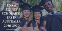 UNSW Equity Scholarships in Australia, 2019-2020