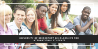 University of Bridgeport Scholarships for International Students