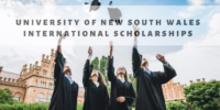 University of New South Wales international awards