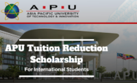 APU Tuition Reduction funding for International Students in Japan