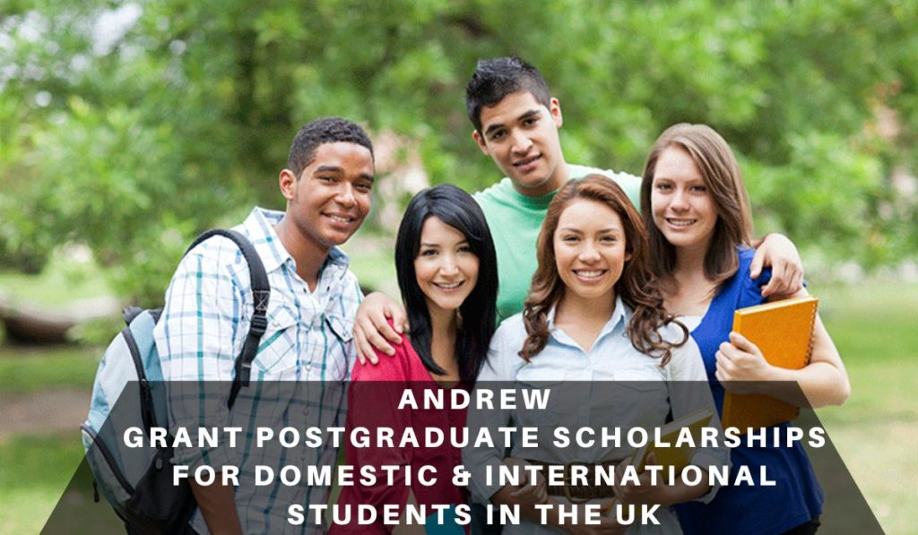 Andrew Grant postgraduate placements for Domestic & International Students in the UK