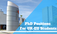 Aston University PhD Positions for UK-EU Students