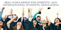 BRAC funding for Domestic and International Students, Bangladesh