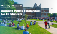 Bachelor Degree Scholarships for EU Students at the University of Sussex, UK