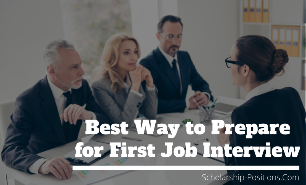 Best Way to Prepare for First Job Interview