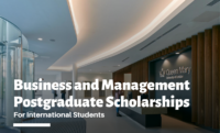 Business and Management postgraduate placements for International Students in the UK