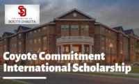 Coyote Commitment program for International Students at University of South Dakota, USA
