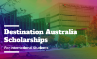Destination Australia Scholarships for International Students at University of the Sunshine Coast, Australia