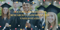 Doctoral Dissertation Research Fellowship in the United States
