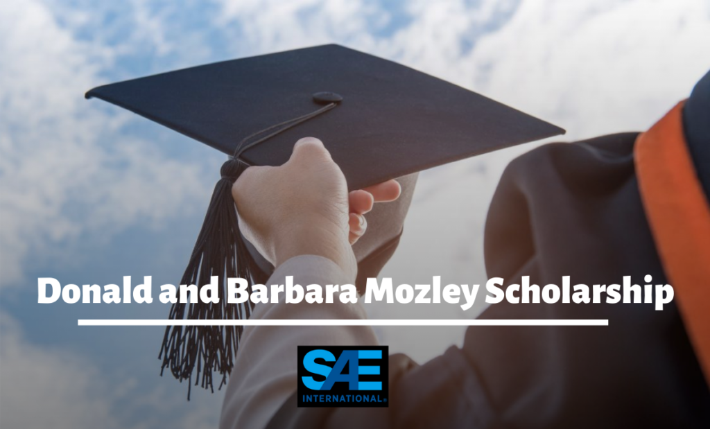 Donald and Barbara Mozley Scholarship