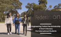 Engineering Tuition Fee Scholarship and Dean's Bursary at Federation University, Australia