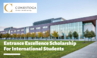 Entrance Excellence funding for International Students at Conestoga College, Canada