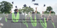 Fast-Forward Master's Scholarship at the University of Greenwich in the UK
