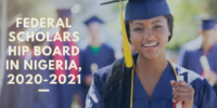 Federal Scholarship Board in Nigeria, 2020-2021