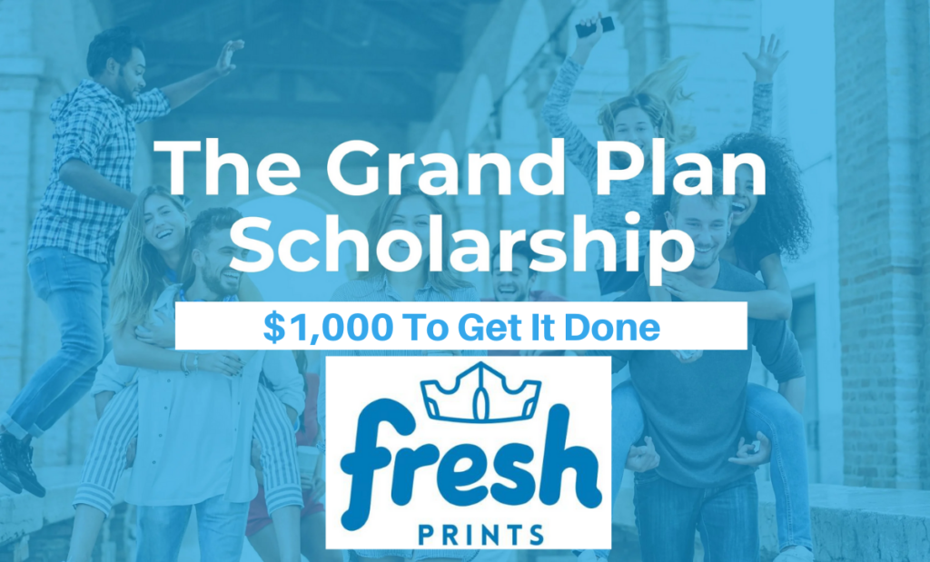 Fresh Prints Scholarship