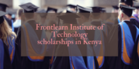 Frontlearn Institute of Technology scholarships in Kenya