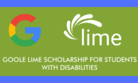 Google Lime Scholarship