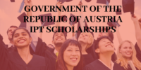 Government of the Republic of Austria IPT Scholarships