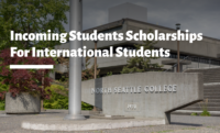 Incoming Students Scholarships for International Students at North Seattle College, USA