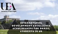 International Development Excellence Scholarships for Brazil Students in the UK