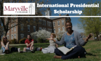 International Presidential Scholarship at Maryville College, USA