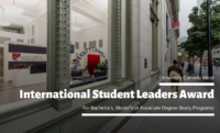 International Student Leaders Award at University Canada West, 2020