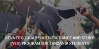 Kennedy-Lugar Youth Exchange and Study (YES) program for Tanzania Students