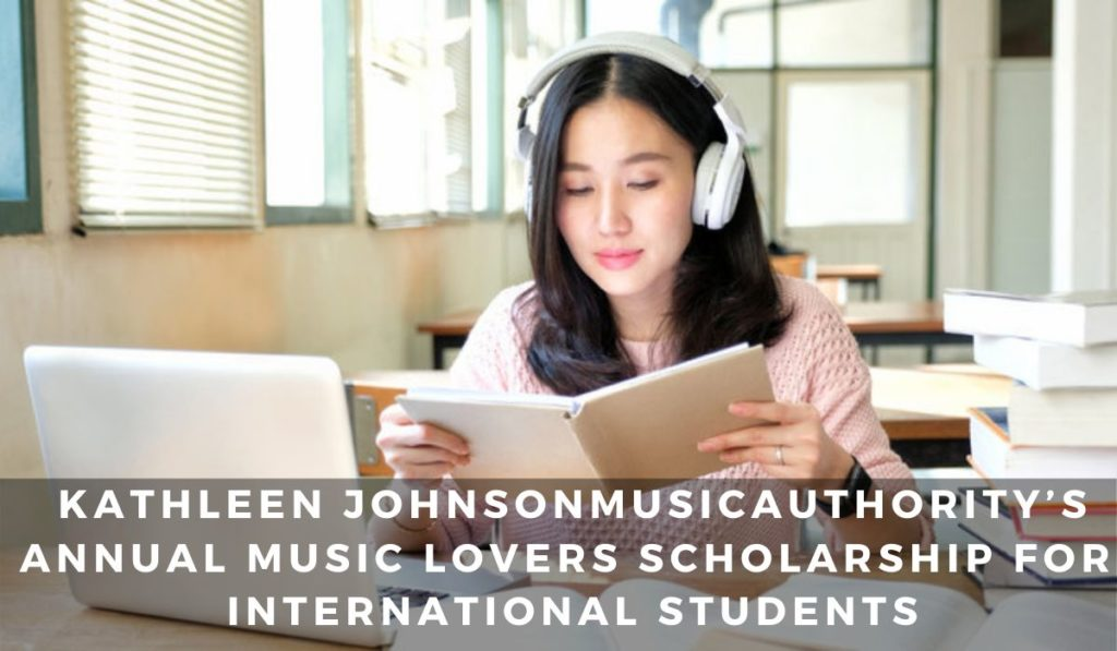 MusicAuthority's Annual Music Lovers funding for International Students