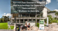 National Tree Genomics Program PhD Positionsfor Domestic & International Students in Australia