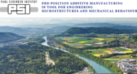 PhD Position Additive Manufacturing in Tool for Engineering Microstructures and Mechanical Behaviour for International Students