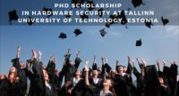 PhD Scholarship in Hardware Security at Tallinn University of Technology, Estonia