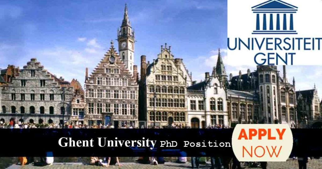 Post Doctoral Position at University of Ghent Global Campus