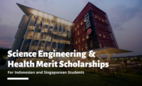 RMIT University Science Engineering and Health merit awards for Indonesian and Singaporean Students in Australia