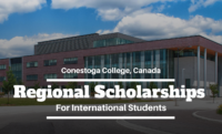 Regional Scholarships for International Students at Conestoga College, Canada