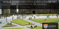 Rural Sustainability Scholarship at the University of Sydney