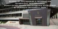 School of Engineering & Information Technology International Dean's funding for Scientific Excellence at Murdoch University, 2020