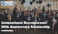 The International Baccalaureate 50th Anniversary Scholarship, 2020