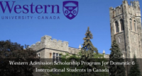 Western Admission program for Domestic & International Students in Canada