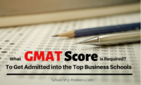 What GMAT Score is Required to Get Admitted into the Top Business Schools?