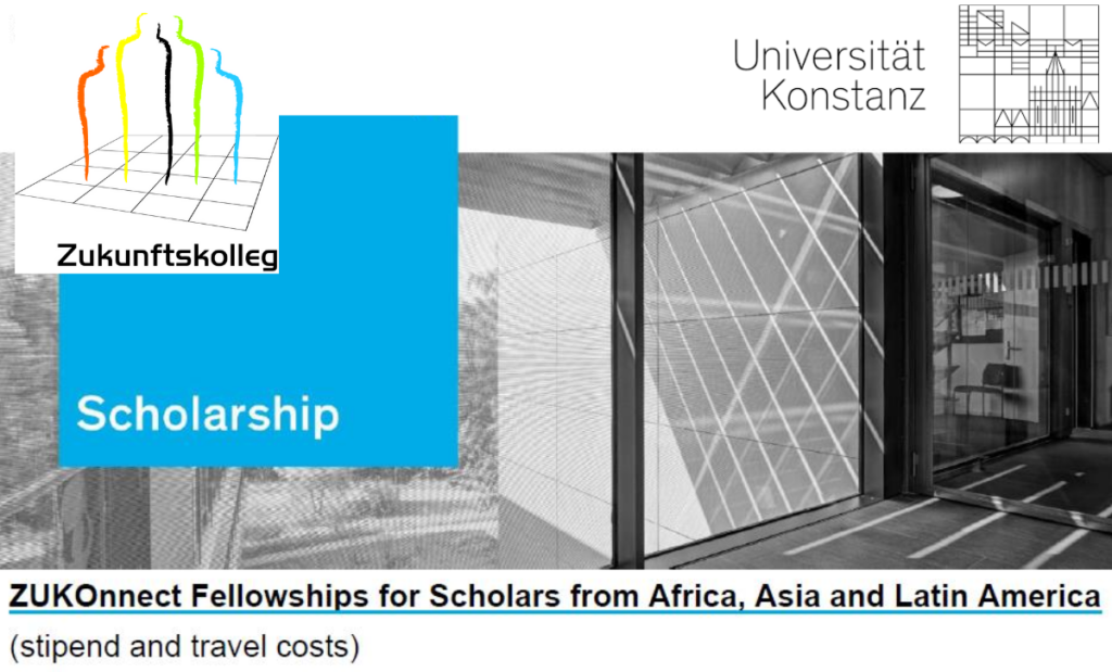 ZUKOnnect Fellowships for Scholars from Africa, Asia and Latin America